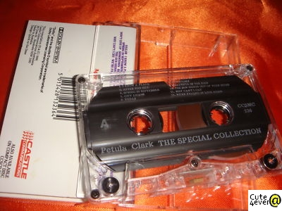 Petula Clark, The Special Collection, audio cassette
