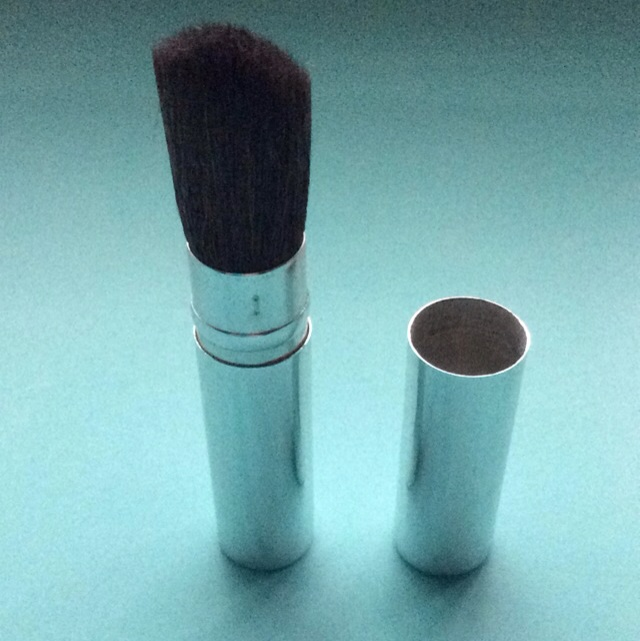 New Round Dome Makeup Brush With Extendable Casing