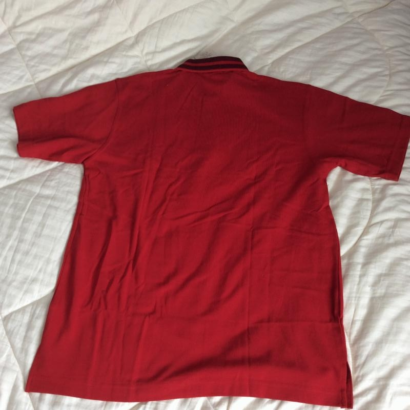 Brand New Men's Red Polo Tee L and XL