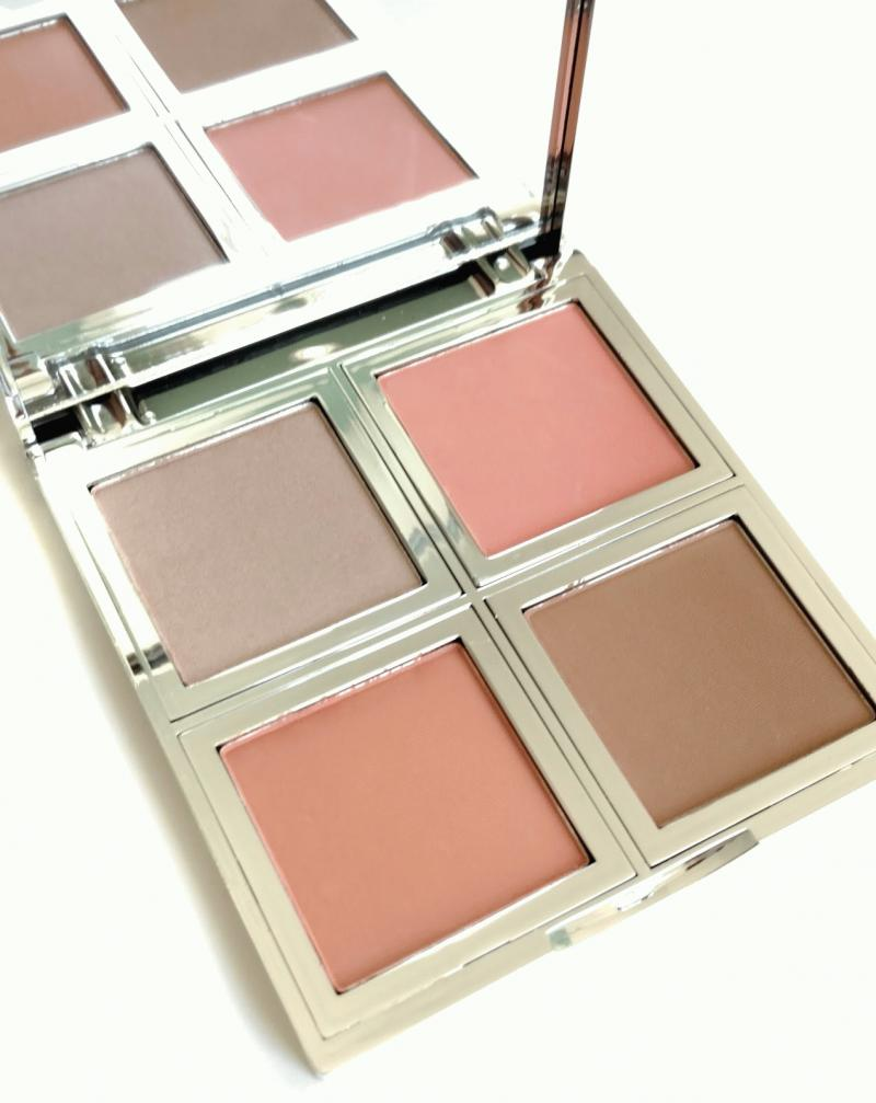 BNIB New e.l.f. Cosmetics Beautifully Bare Natural Glow Face Palette